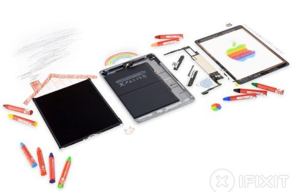 'iPad 2018 bestaat vooral uit oude onderdelen, is lastig te repareren'