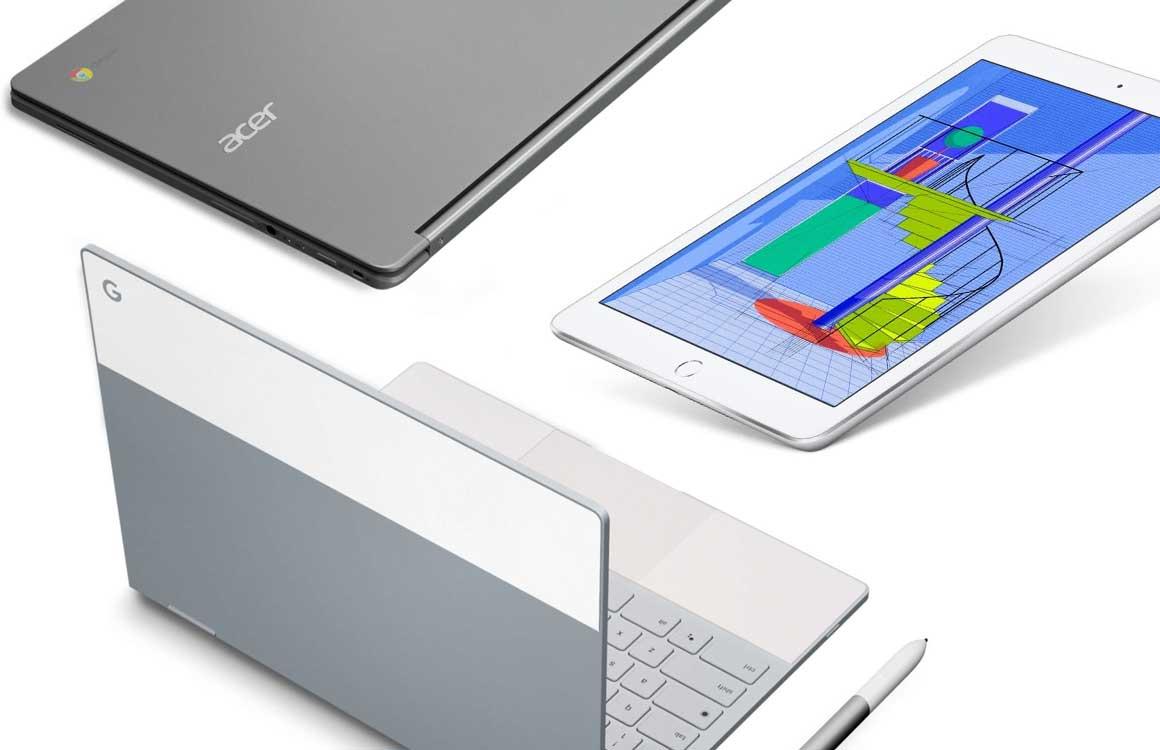 iPad versus Chromebook in het klaslokaal: heeft Apple een kans?
