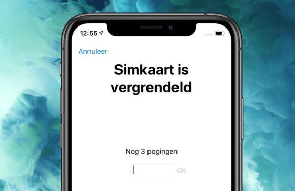 iPhone simpincode invoeren, wijzigen of vergeten? Dit kun je doen