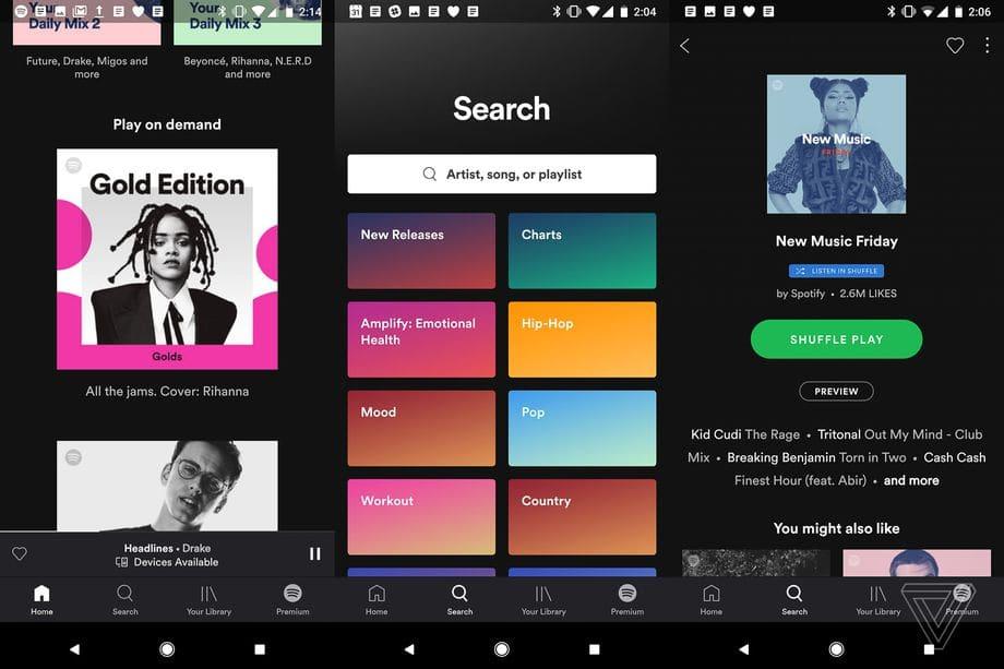 Spotify gratis gebruikers