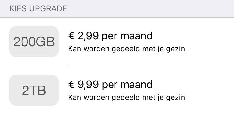 google one apple icloud
