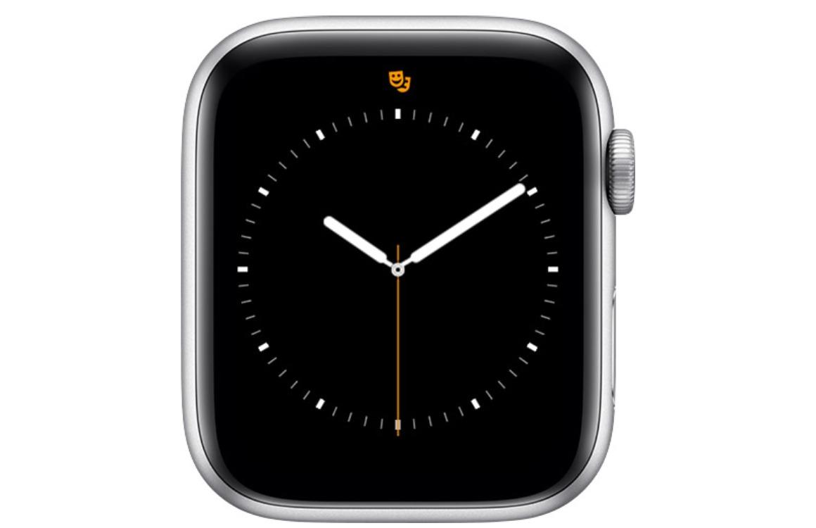 Apple Watch Theatermodus icoon