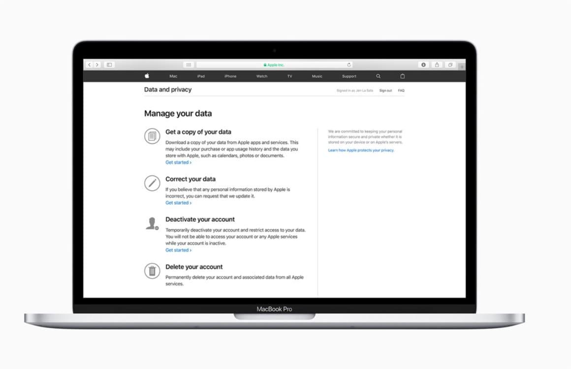 Gids: Alles over het opvragen en beheren van je privacygevoelige Apple-data