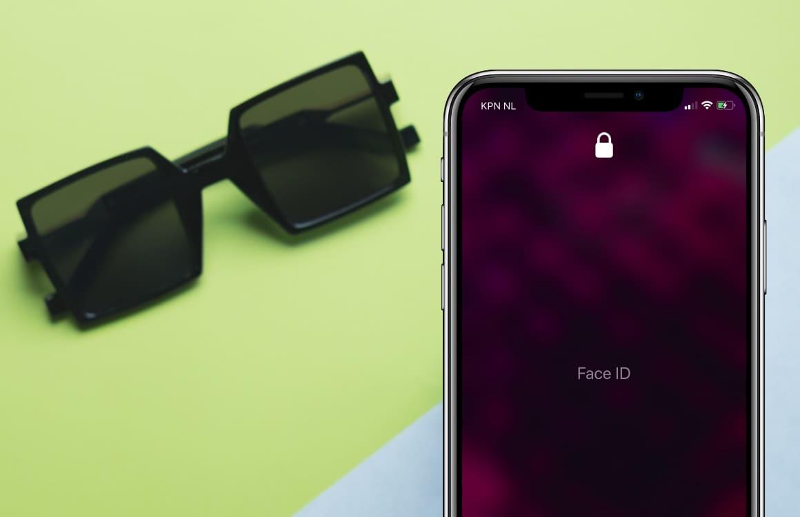 Waarom Face ID met een zonnebril soms niet werkt, en hoe je dit oplost