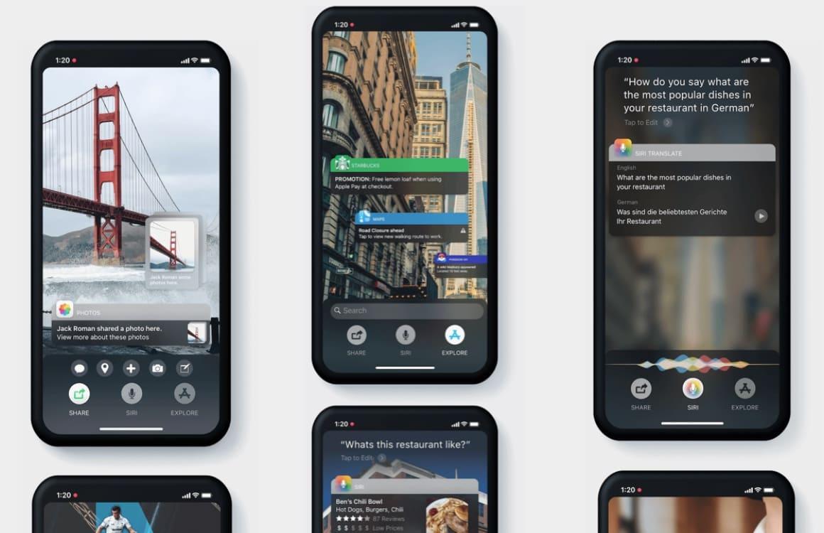 iOS 12 AR-concept