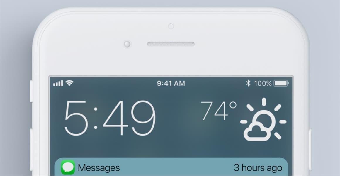 iOS 12 notificaties concept