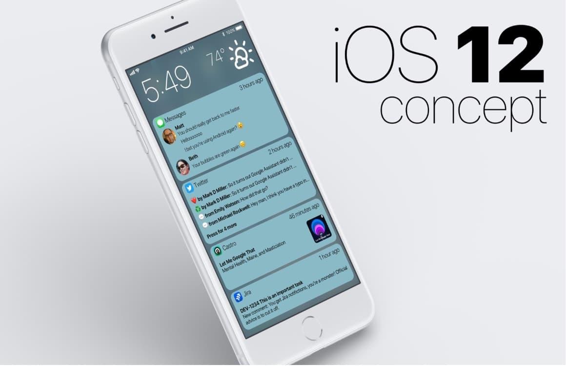 Dit iOS 12-concept laat zien hoe iPhone-notificaties beter kunnen