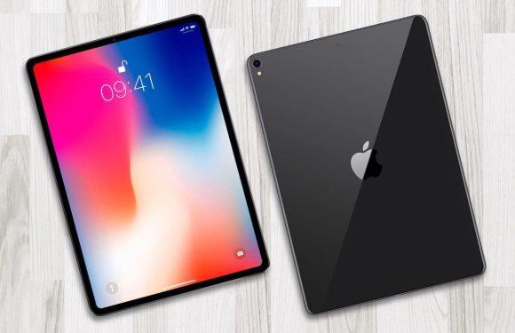 Apple lekt iPad Pro 2018-design: geen homeknop en geen notch