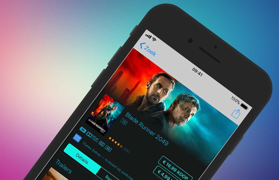 Zo vind je films met audiobeschrijvingen in de iTunes Store