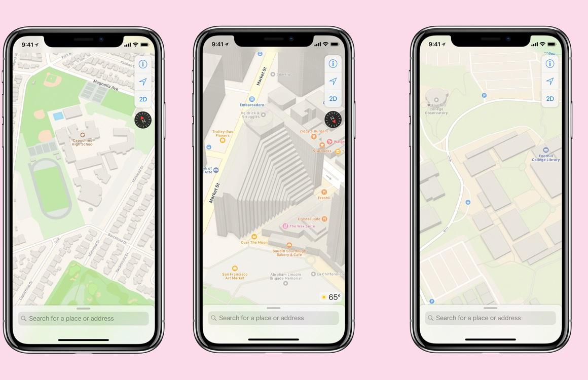 Apple gaat mogelijk augmented reality toevoegen aan Kaarten-app