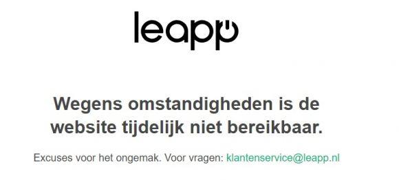 Leapp failliet