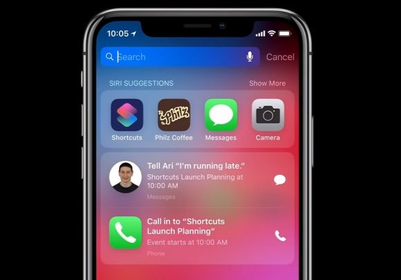 Siri Snelkoppelingen iOS 12