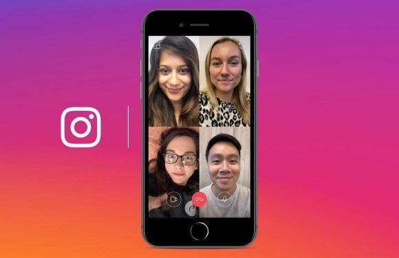 Zo voer je een videogesprek met vrienden in Instagram
