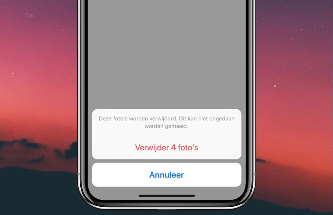 iOS 12-tip: zo verwijder je foto's permanent van je iPhone