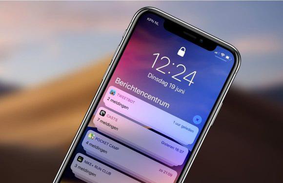 Zo pas je gegroepeerde meldingen per app aan op je iPhone