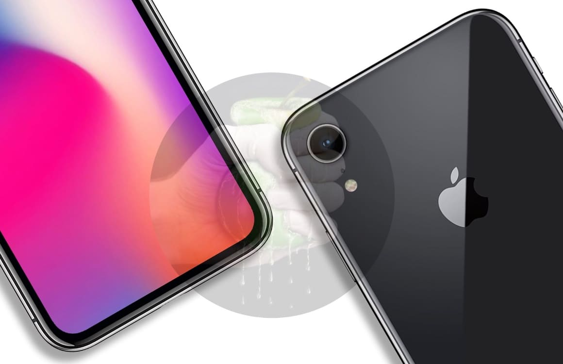 iPhone 2018 schematische tekening