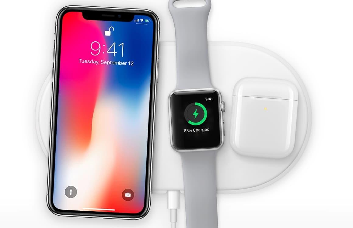iPhone 2018 draadloos opladen