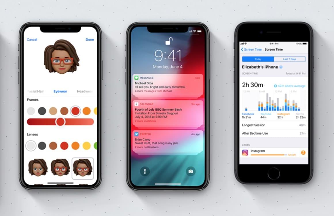 Kleine iOS 12 functies
