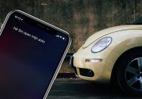 'Hé Siri, zet mijn Volkswagen op slot en bewaar de parkeerlocatie'