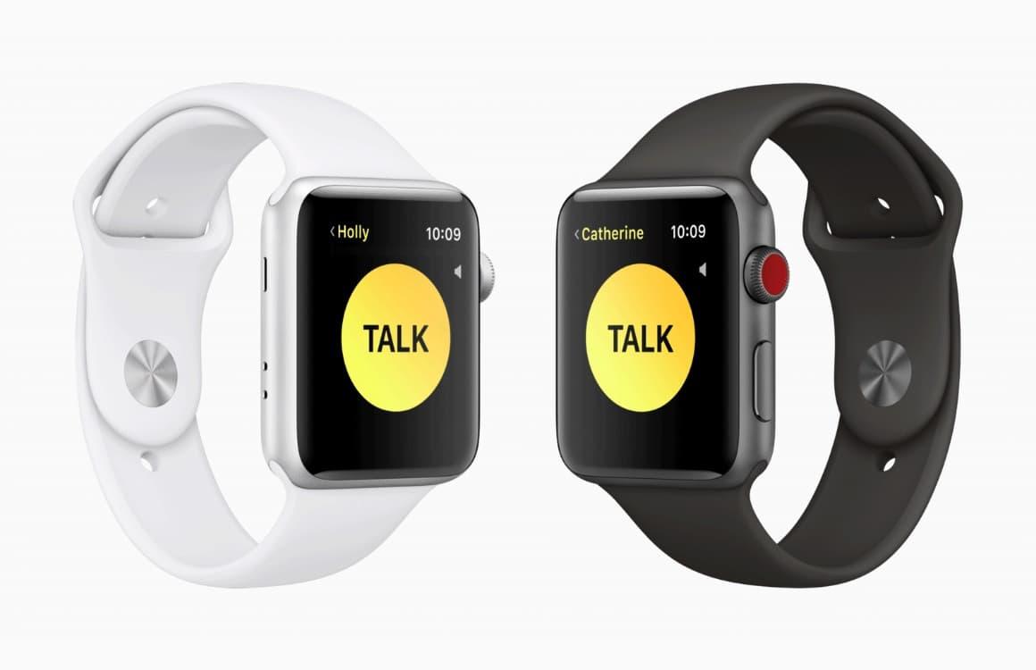 Apple Watch afluisterbug