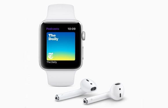 watchOS 5 brengt podcasts naar de Apple Watch: zo gaat het werken