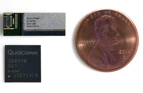 Qualcomm onthult eerste 5G-antenne die geschikt is voor iPhones
