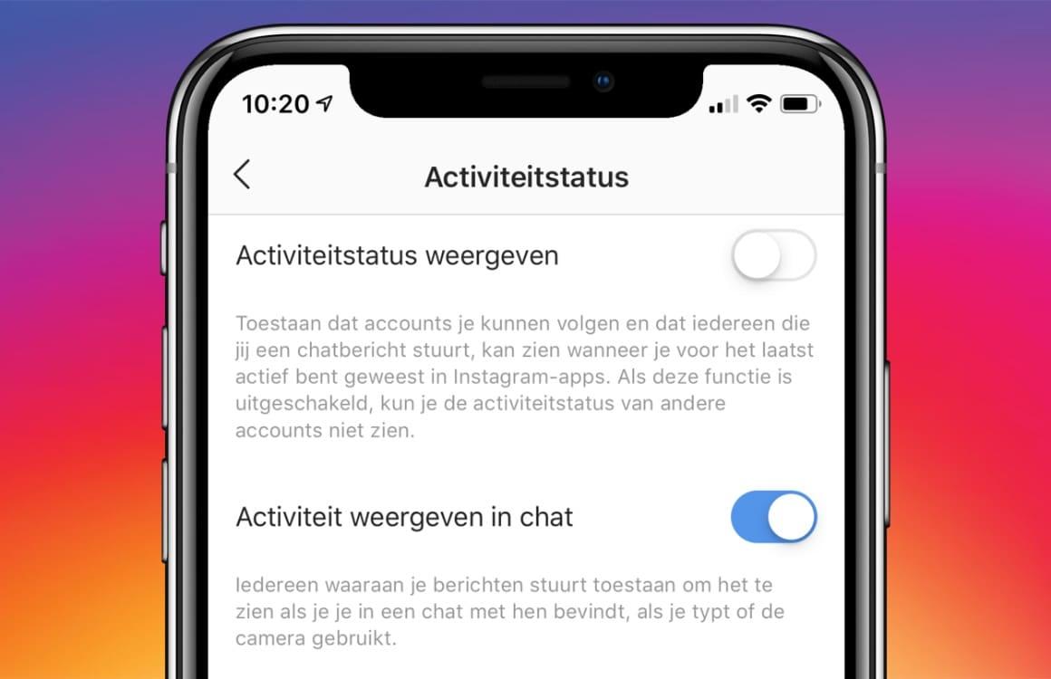 Tip: Zo verberg je jouw online status op Instagram