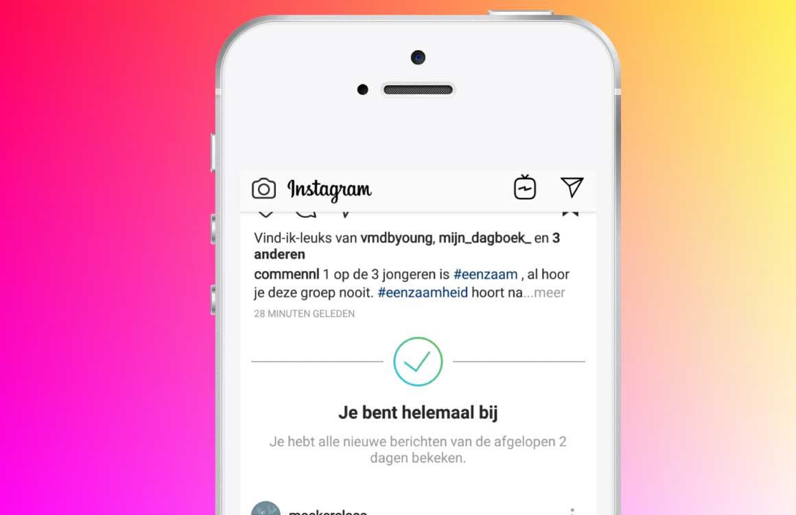 Handig: zo wordt Instagram iets minder verslavend