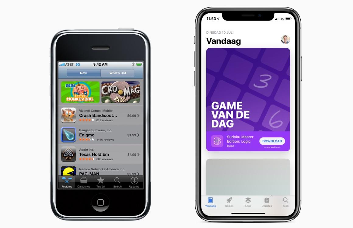 tien jaar app store