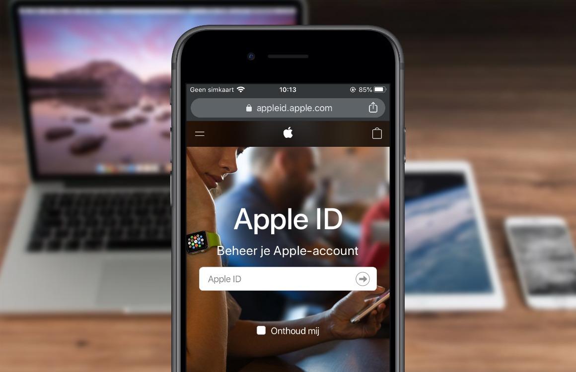 Apple ID wachtwoord vergeten? Zo krijg je weer toegang tot je Apple-account