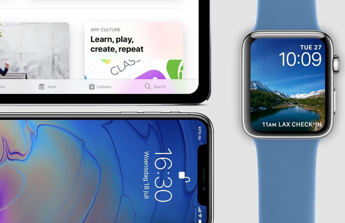 Overzicht: alle producten die Apple in 2018 nog uitbrengt