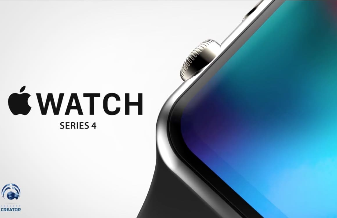 Video: Toffe conceptvideo toont Apple Watch Series 4 met groter display