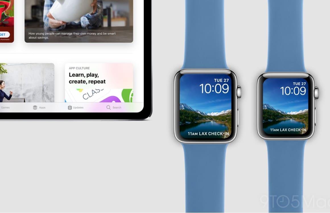 Concept: Zo zien de iPad Pro 2018 en Apple Watch Series 4 eruit