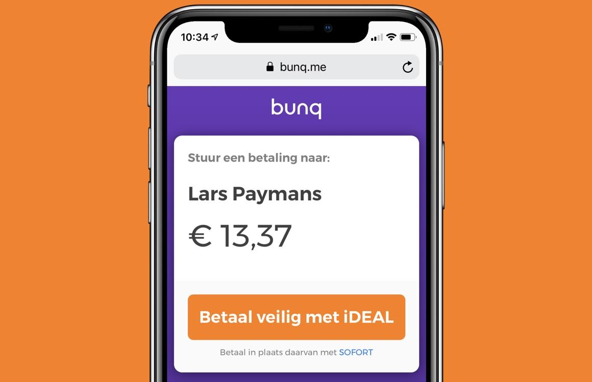 Zo gebruik je de terugbetaaldienst Bunq.me op je iPhone