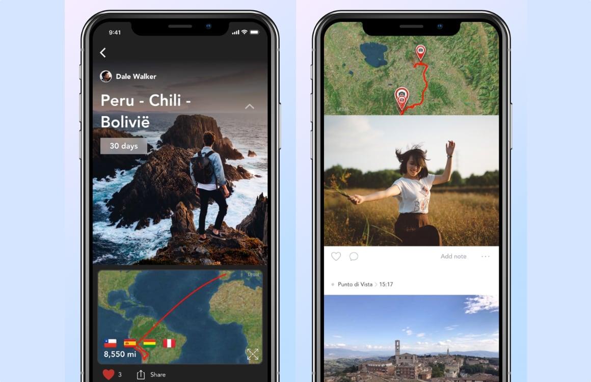 iPhone vakantiefoto's