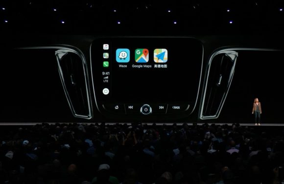 CarPlay navigatie-apps