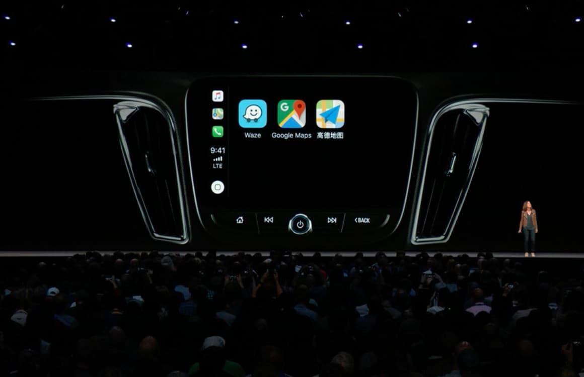 CarPlay navigatie-apps