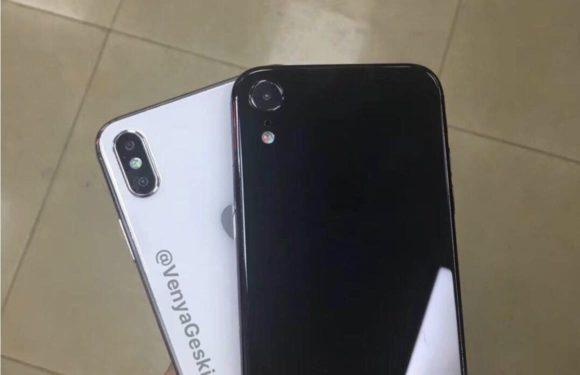 Foto's: iPhone X Plus- en iPhone 2018-dummies lekken uit