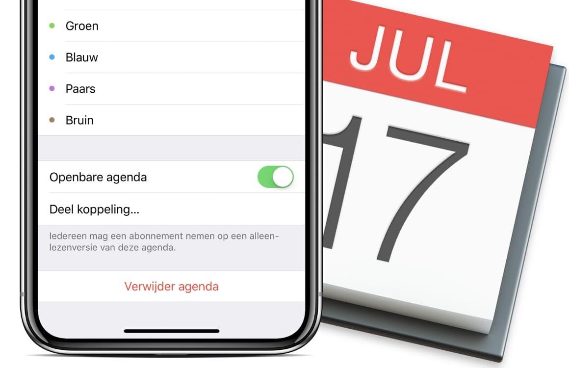 Een iPhone agenda-abonnement verwijderen of aanmaken: zo doe je dat