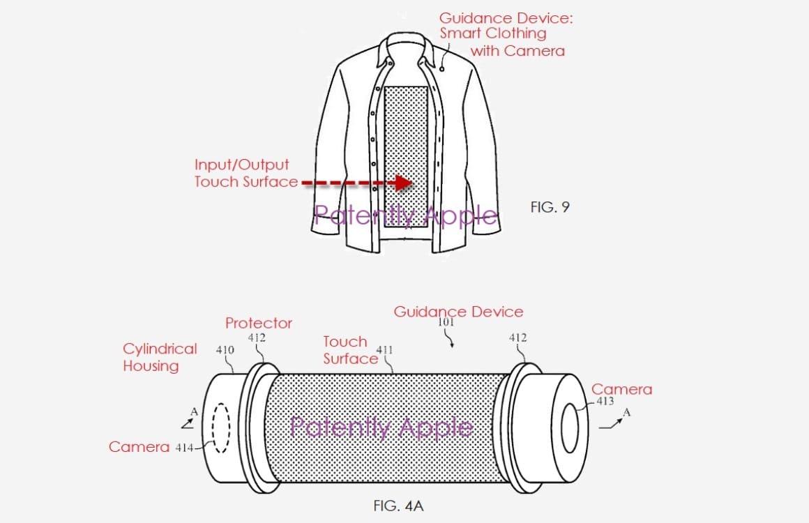 Apple visuele beperking