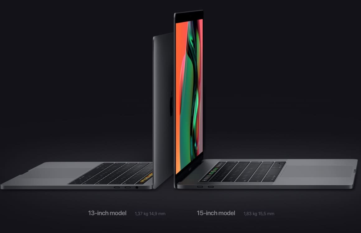 MacBook Pro 2018 officieel