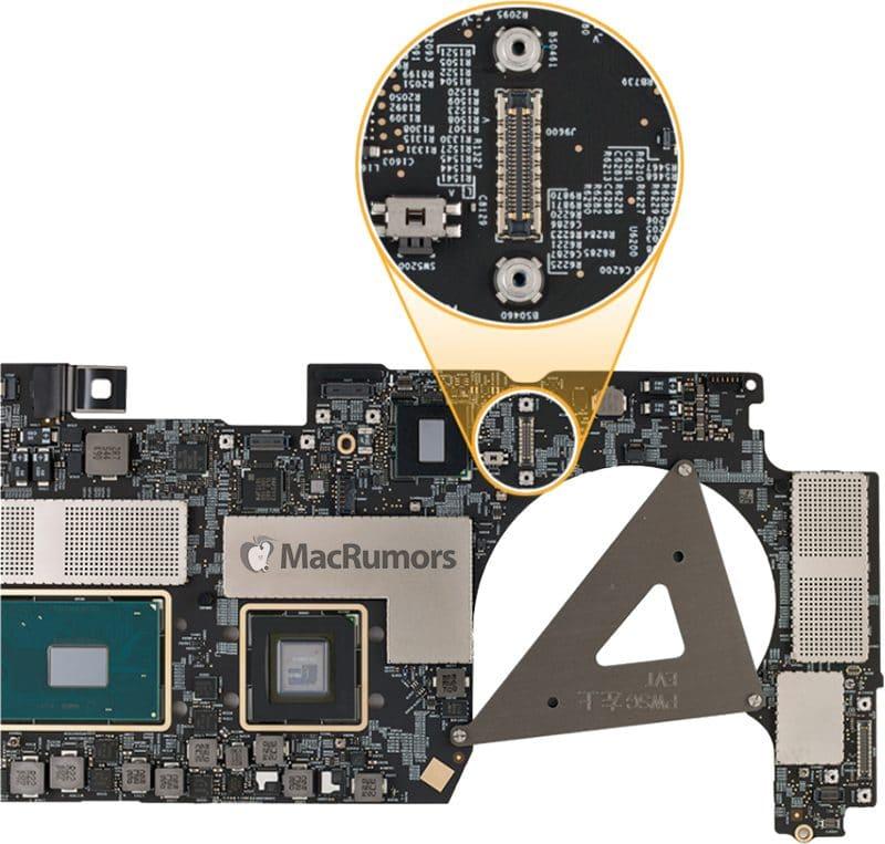 MacBook Pro 2018 moederbord
