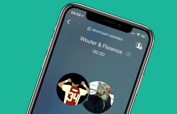 WhatsApp-groepsbellen met video en audio nu beschikbaar: zo werkt het