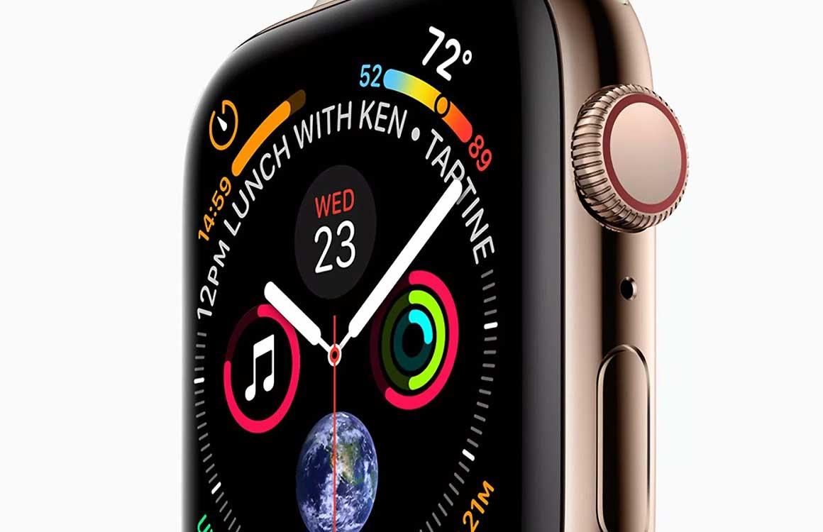 'Apple Watch Series 4-afbeelding toont nieuw design'