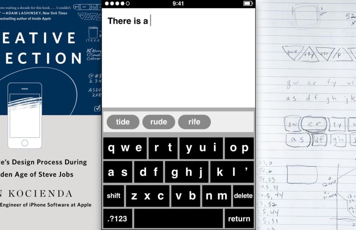 Zo zagen de eerste prototypes van het iPhone-toetsenbord eruit