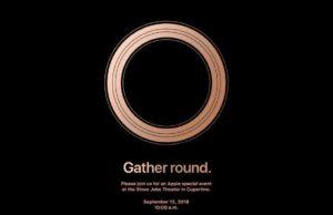 iphone 2018 event
