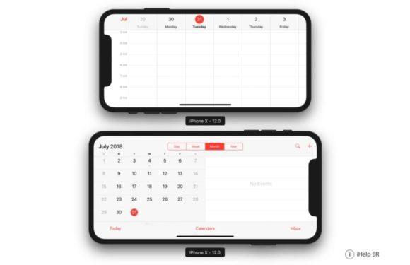 'iPhone X Plus krijgt iPad-achtige landschapsweergave'