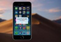 iOS 12-bèta valt gebruikers plots continu lastig met updatemelding