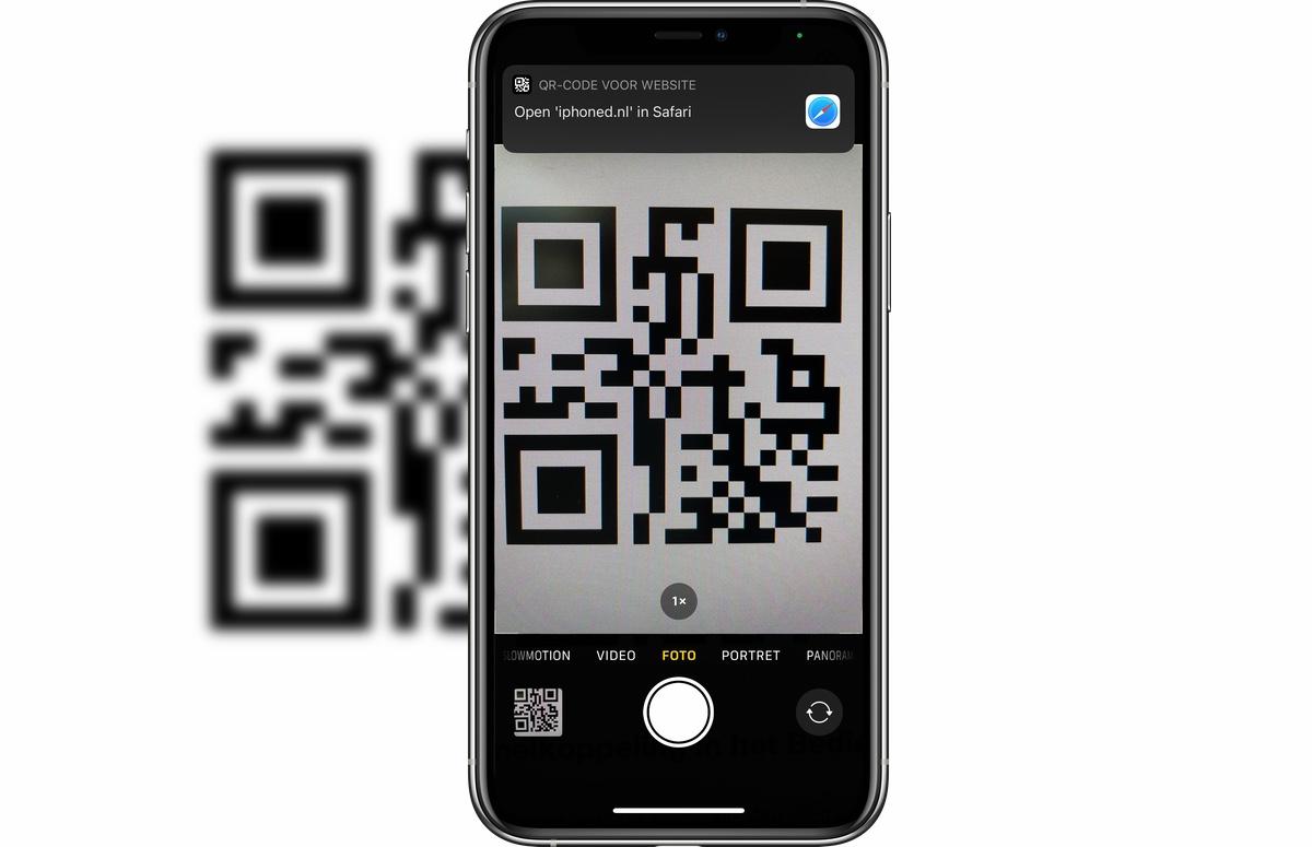 Tip: Zo scan je een qr-code met je iPhone (zonder aparte app)