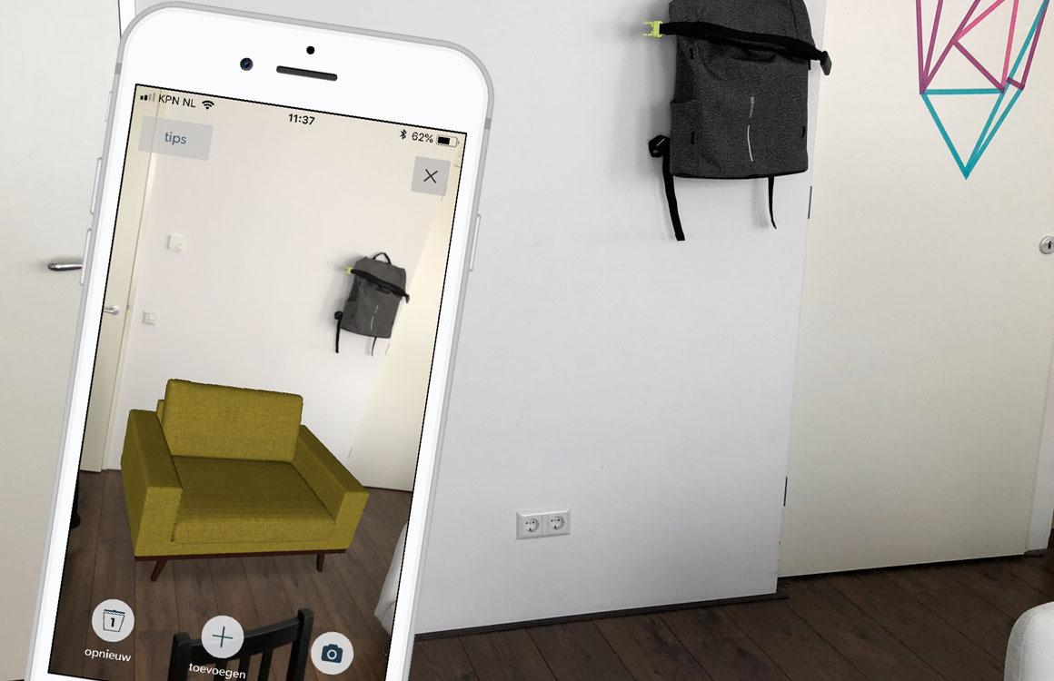 De 16-jarige achter de augmented reality-meubels van Wehkamp